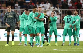 Real Madrid se mete a la final de la Supercopa de España