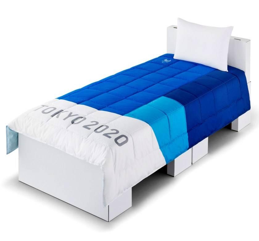 Atletas dormirán en camas de cartón en Olimpiadas de Tokio 2020