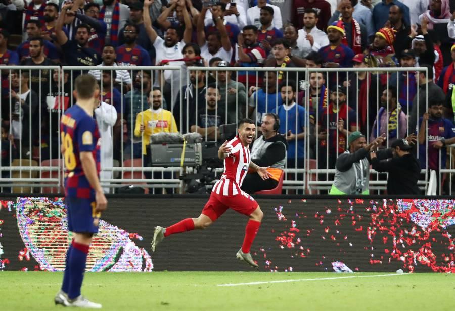 Atlético de Madrid remonta al Barcelona y se mete a la final de la Supercopa
