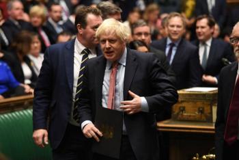 Diputados británicos listos para aprobar el Brexit este jueves
