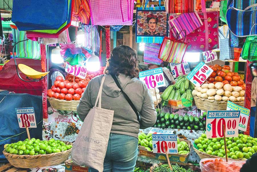 Inflación, continúa a la baja: Inegi