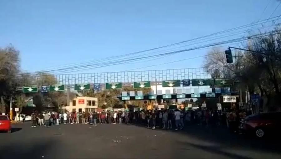 Enfrentamiento en estacionamiento de la Central de Abasto