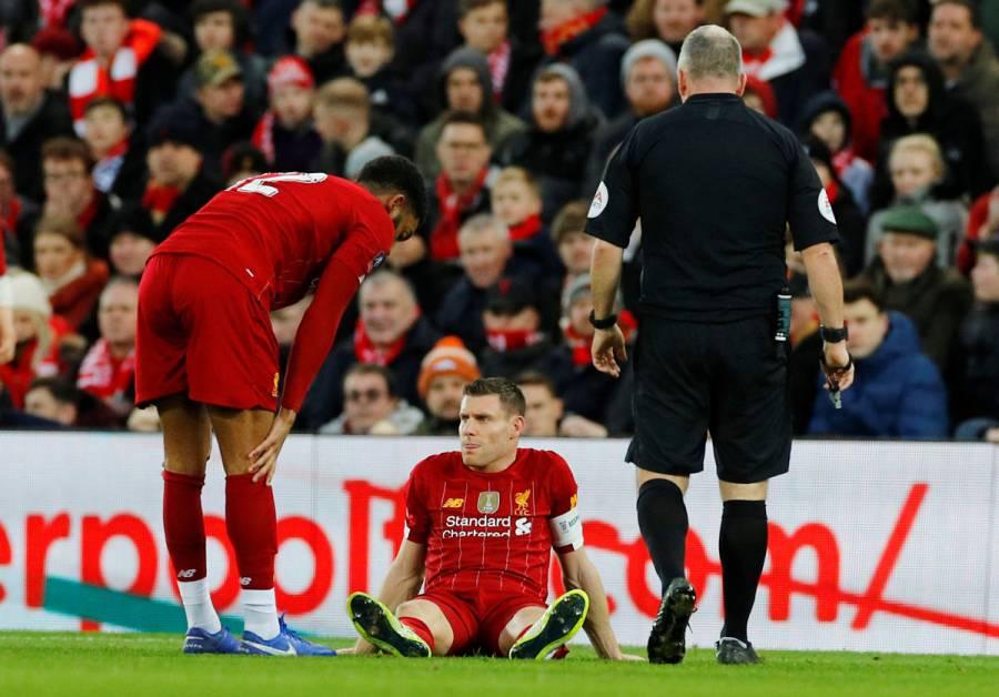Keita y Milner serán baja en Liverpool ante Tottenham por lesión