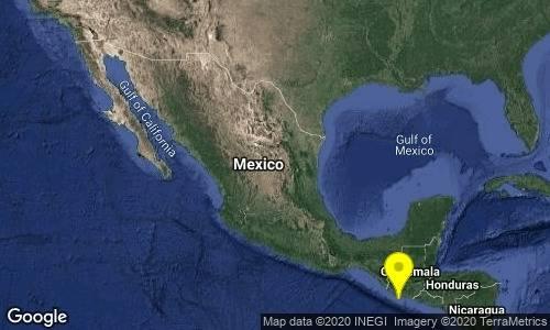 Sismo magnitud 5 en Ciudad Hidalgo, Chiapas