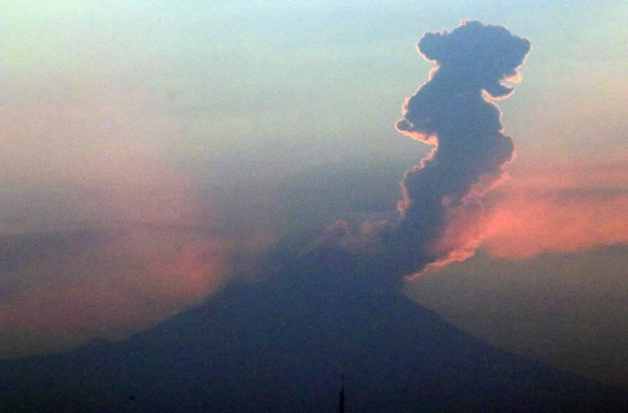Innecesario, elevar nivel de alerta en el Popocatépetl: Sedena