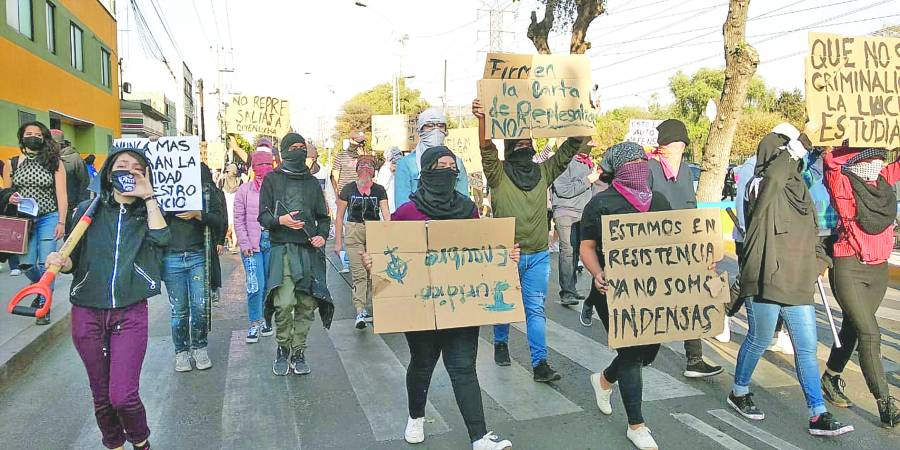 Ignoran mensaje de Graue; se Endurece protesta en prepa 9