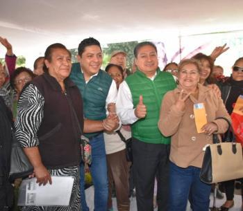 Municipio de Soledad entrega apoyos a adultos mayores por primera vez