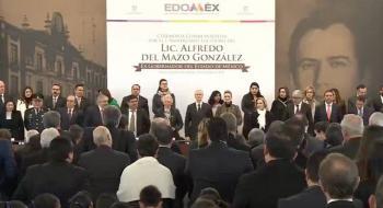 Conmemoran primer aniversario luctuoso de Alfredo Del Mazo González