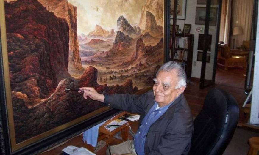 Fallece el artista plástico morelense Jorge Cázares Camposs