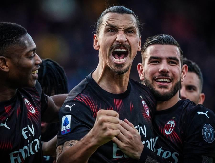 Ibrahimovic da al Milan su primera victoria en el 2020
