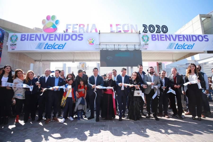 Inauguran Feria Estatal de León 2020