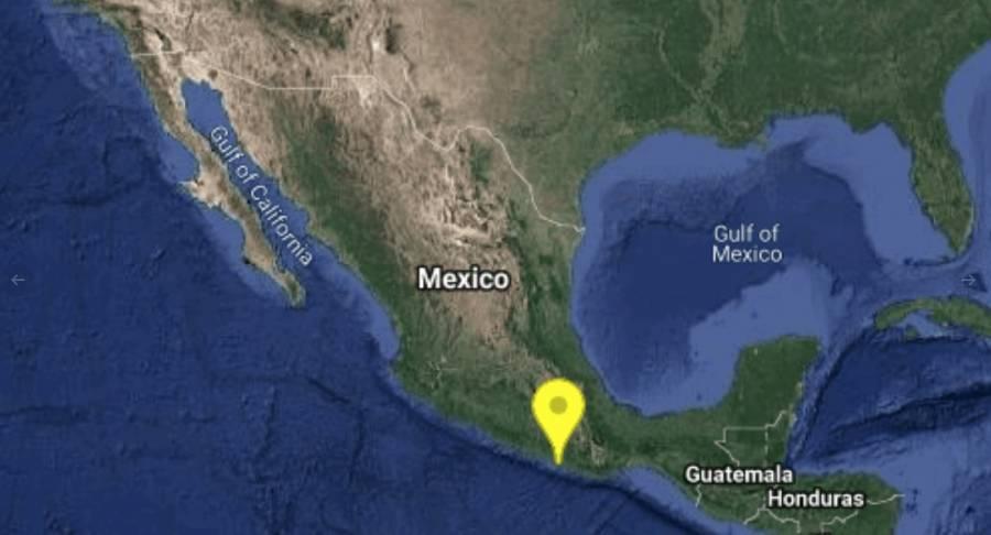 Sismo de 5.1 grados sacude Oaxaca; sin riesgo de tsunami