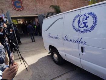 Se llevan a cabo funerales de maestra y alumno del Colegio Cervantes