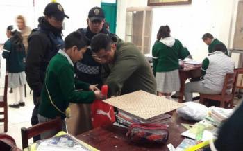 """Anuncian puesta en marcha de """"Mochila Segura"""" en región de La Laguna"""
