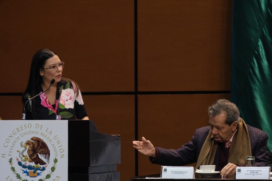 …Y Muñoz Ledo urge a detener tráfico de armas