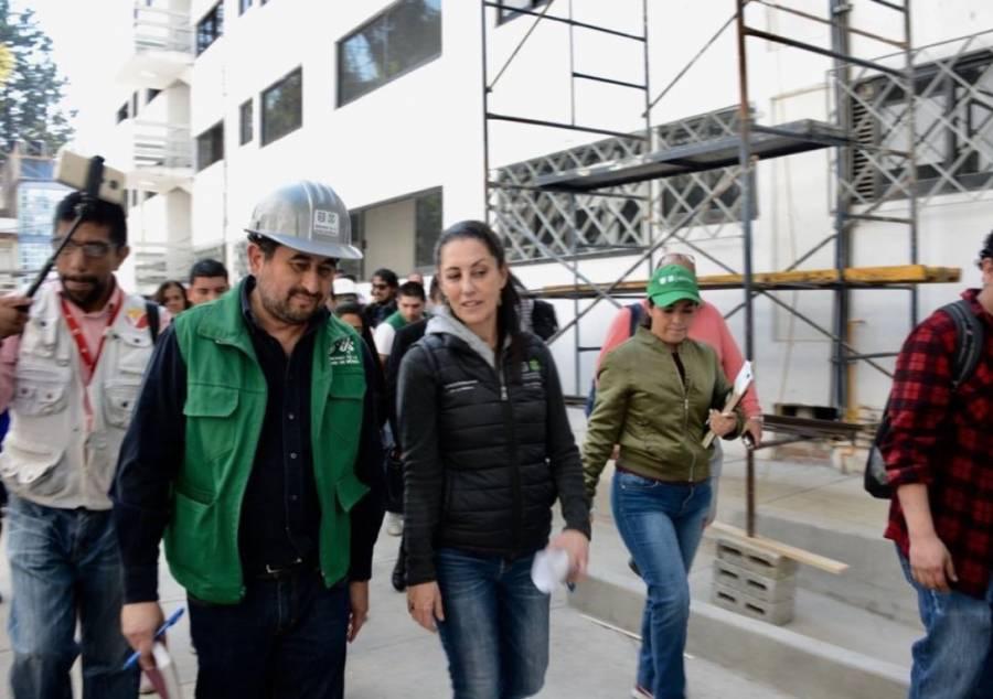 Sheinbaum anuncia última etapa en obras de la Unidad Habitacional Tlalpan