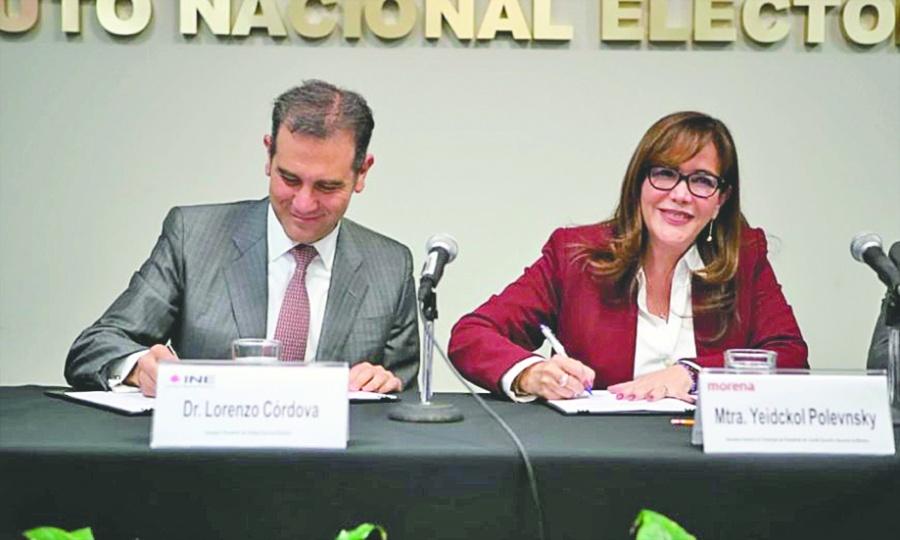 Deposita INE a Morena sólo 34 mdp; lo supera PRI y PAN