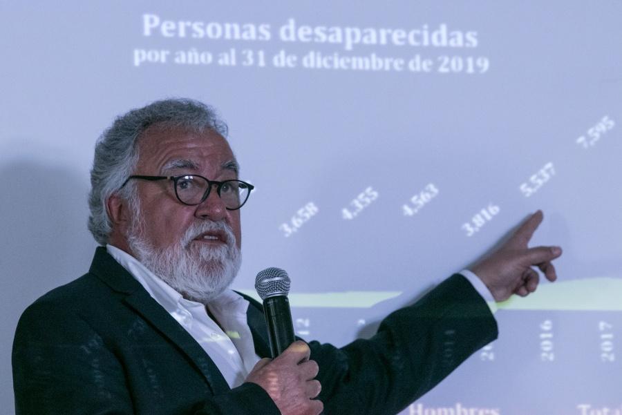 """Encinas afirma que se tirará la """"verdad histórica"""""""