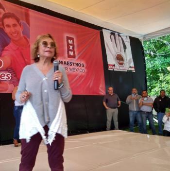 Revira Elba Esther a Cepeda y SNTE: mis derechos sindicales, vigentes
