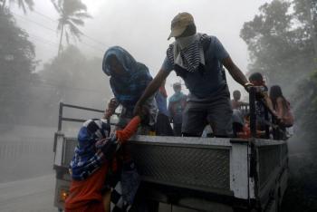 Filipinas realiza evacuación masiva por peligro de erupción