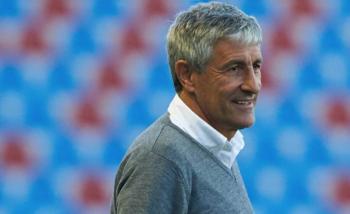 Quique Setién, principal candidato para entrenar al Barcelona