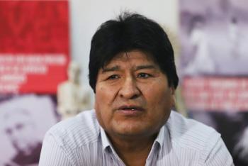 Gobierno repudia llamado de Evo Morales a crear milicias armadas