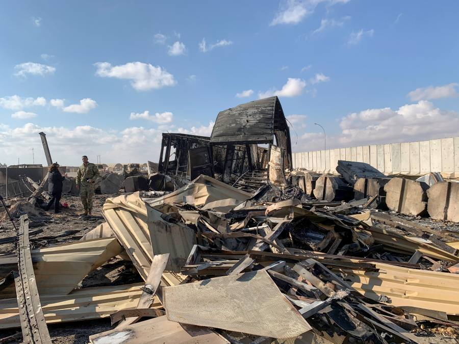 Varios cohetes impactan cerca de base iraquí con tropas de EEUU