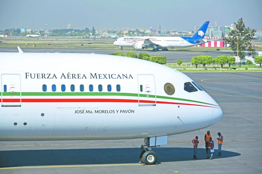 Regresará avión presidencial a México; lo rematarían en 130 mdd