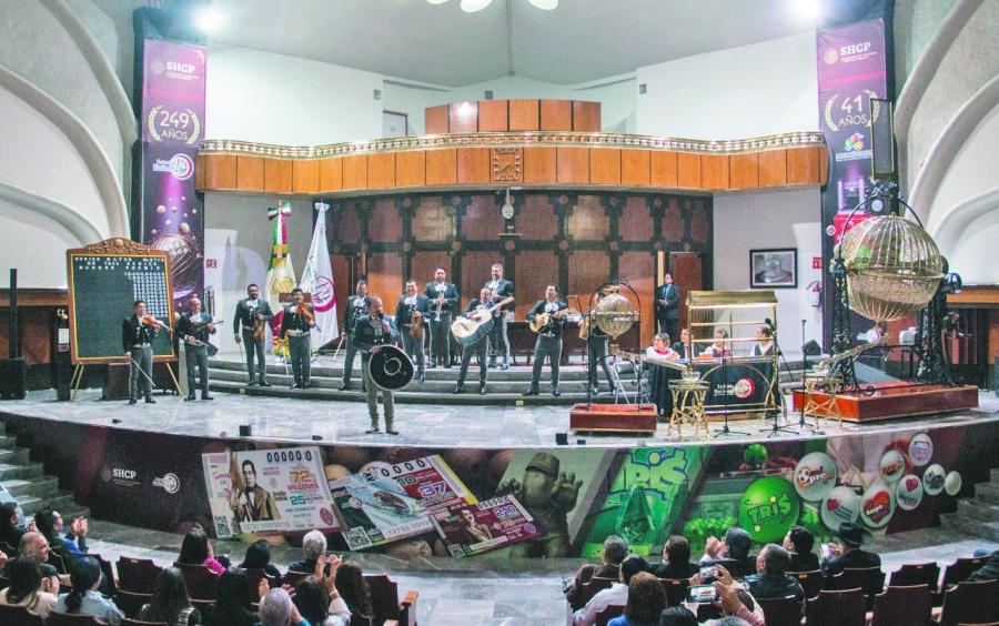 Apagan festejo de los 250 años de la Lotería Nacional