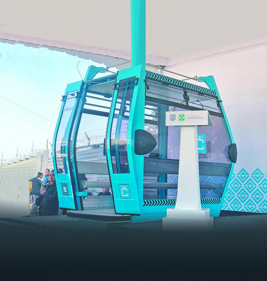 Invierten 3 mmdp en línea 2 del Cablebús