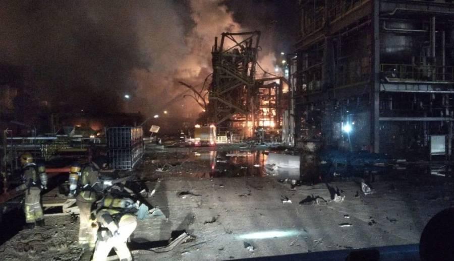 VIDEO: Se registra explosión en planta química de Tarragona, España