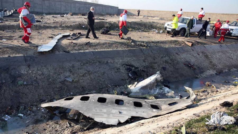 Irán detiene a personas relacionadas con derribo de avión ucraniano