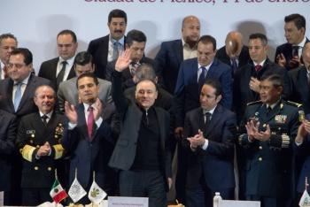 Acuerdan los gobernadores trabajar en unidad pese a diferencias