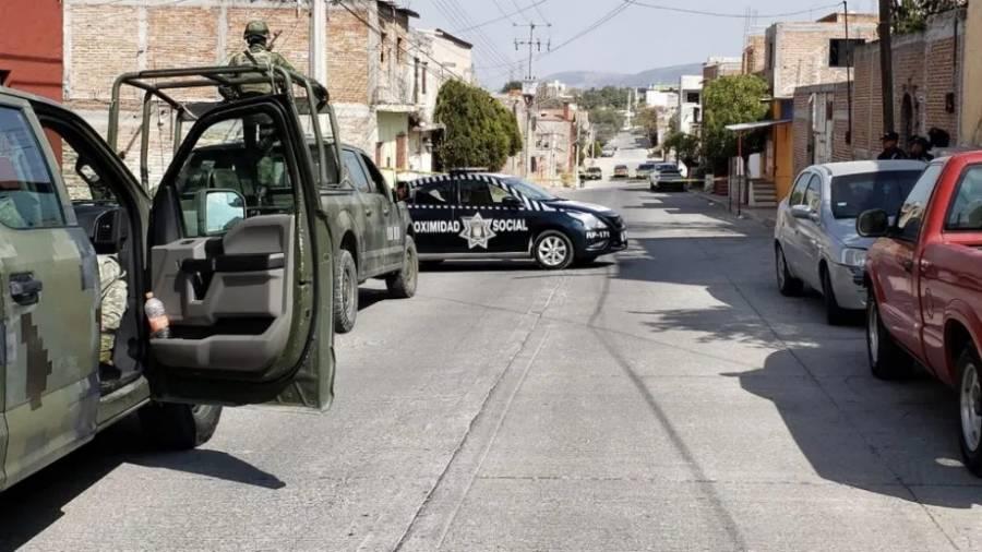 Enfrentamiento en San Miguel de Allende, Guanajuato, deja tres heridos