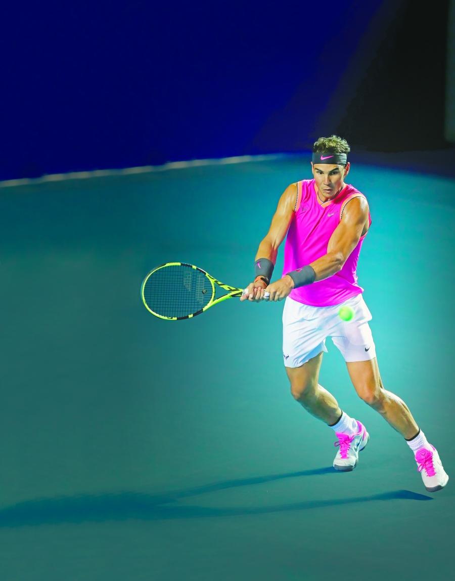 Rafael Nadal regresa al Abierto de Acapulco en busca de su tercer título