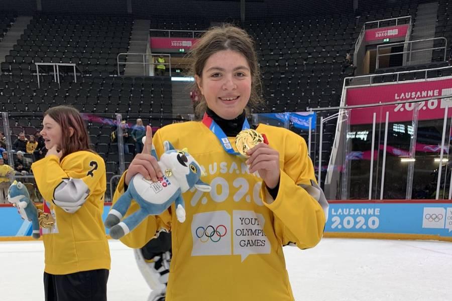 Luisa Wilson gana primer oro para México en Olímpicos de Invierno