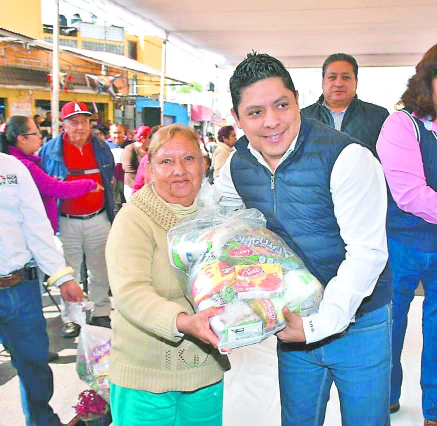 Soledad, SLP, pionero en entrega de apoyos sociales