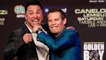 JC Chávez y Óscar de la Hoya se enfrentarían en pelea de exhibición