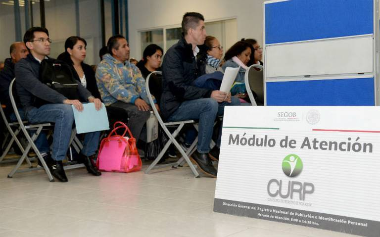 Persisten fallas para la consulta de CURP en línea