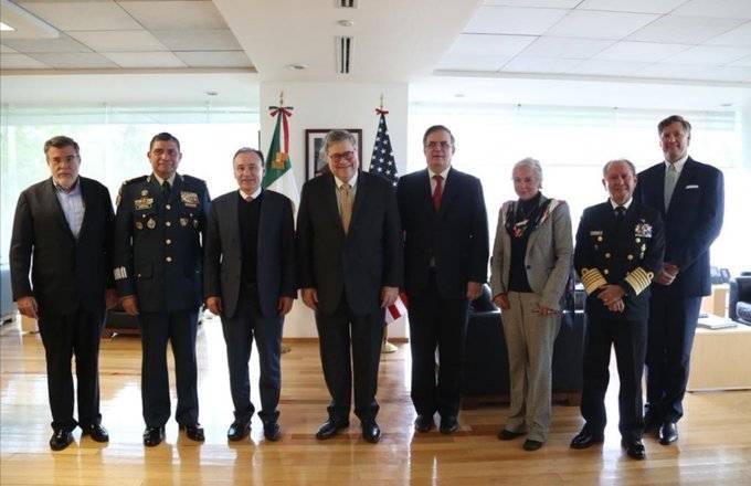 Acuerdan México-EU programa binacional para reducir tráfico de armas
