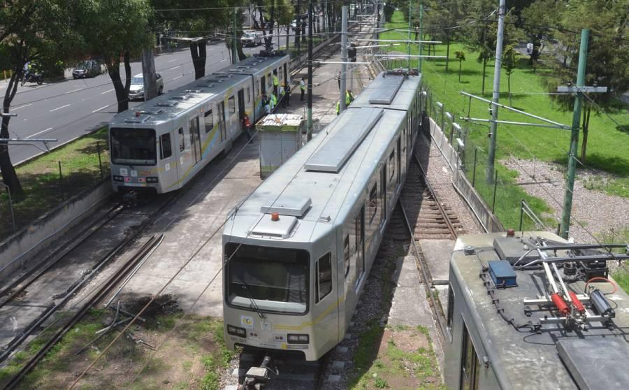 Tren Ligero reanuda servicio en tramo Tasqueña-Estadio Azteca
