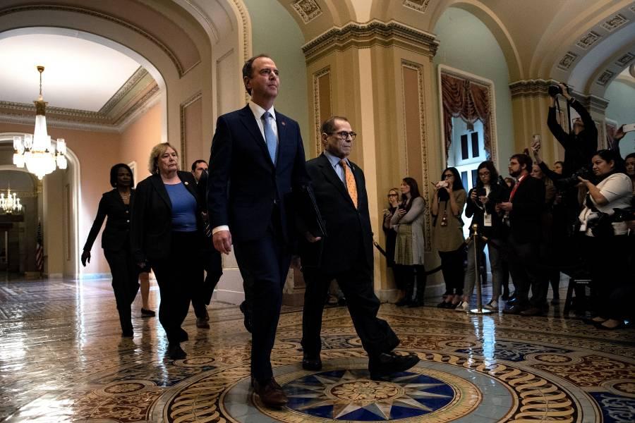Senado de EU inicia formalmente proceso de juicio político contra Trump