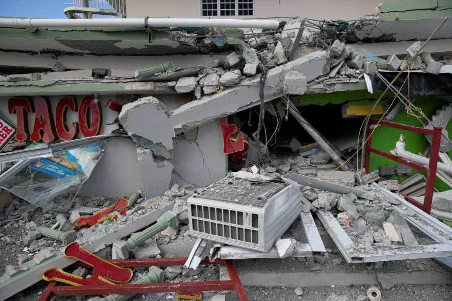 Por sismos, Trump declara situación de desastre en Puerto Rico
