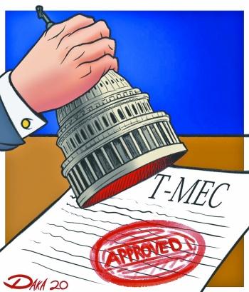 Unos 22.2 bdd y 490 millones de personas quedan unidos por el T-MEC