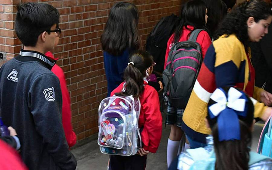 Modifican medidas de seguridad en Colegio Cervantes al retomar clases