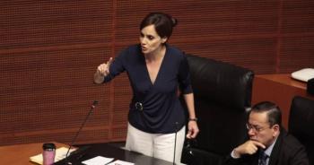 Si AMLO deja Morena, el partido sería un fracaso: Lilly Téllez