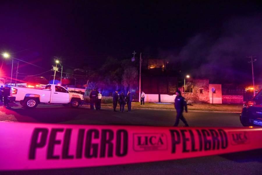 Incendio daña el histórico Molino de La Pedrera en Toluca