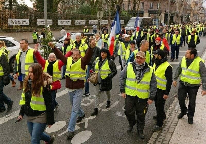 Chalecos Amarillos: Detienen al menos a 15 durante protestas en París