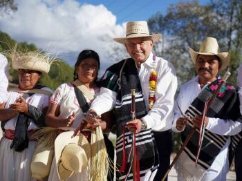 La gente está gobernando México, sostiene AMLO