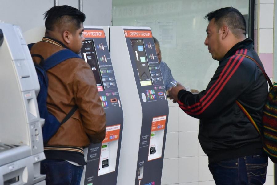 Van 4 millones de tarjetas del metro vendidas, detallan